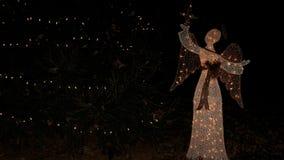 Ángel de la decoración de la Navidad Imagen de archivo
