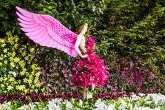 Ángel de la flor Foto de archivo libre de regalías