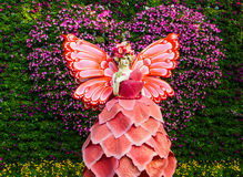 Ángel de la flor Fotos de archivo libres de regalías