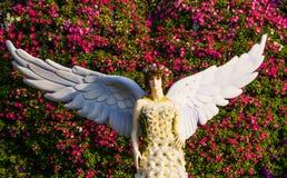 Ángel de la flor Imagen de archivo libre de regalías