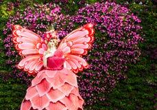 Ángel de la flor Foto de archivo
