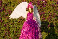 Ángel de la flor Imágenes de archivo libres de regalías