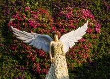 Ángel de la flor Imagen de archivo