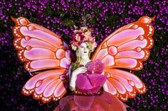 Ángel de la flor Fotografía de archivo libre de regalías