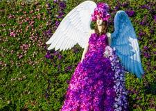 Ángel de la flor Fotografía de archivo