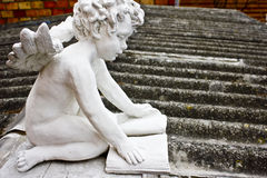Ángel de la lectura Imagen de archivo libre de regalías