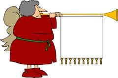 Ángel de la Navidad stock de ilustración