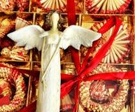 Ángel de la Navidad Fotografía de archivo libre de regalías