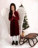 Ángel de la Navidad imagen de archivo