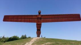 Ángel de la Newcastle del norte Imagen de archivo