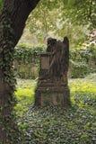 Ángel de luto foto de archivo