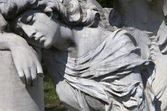 Ángel de luto Foto de archivo libre de regalías