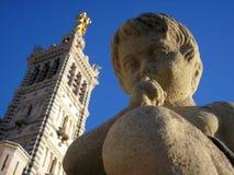 Ángel de Marsella Foto de archivo