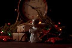 Ángel de Navidad Foto de archivo