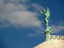 Ángel de Sacre Coeur Imagen de archivo libre de regalías
