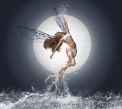 Ángel del agua Fotos de archivo
