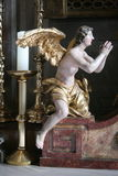 Ángel del altar, iglesia en Zagreb, Croacia Imágenes de archivo libres de regalías