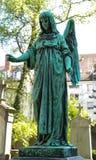 Ángel del cementerio Foto de archivo