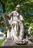 Ángel del cementerio Imagen de archivo
