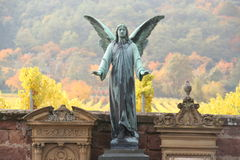 Ángel del cementerio Fotografía de archivo libre de regalías