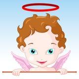 Ángel del Cupid Fotografía de archivo