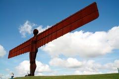 Ángel del del norte (Inglaterra) Imagenes de archivo
