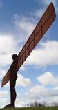 Ángel del Gateshead del norte Newcastle Reino Unido Imágenes de archivo libres de regalías