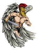 Ángel del guerrero Foto de archivo libre de regalías