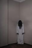 Ángel del horror de la muerte Fotos de archivo