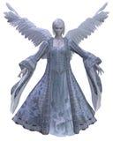 Ángel del invierno - 1 Stock de ilustración