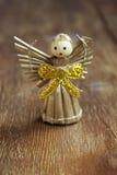 Ángel del juguete del vintage Fotos de archivo libres de regalías
