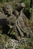 Ángel del muchacho en cementerio del highgate Fotos de archivo libres de regalías