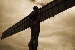 Ángel del norte Imagenes de archivo