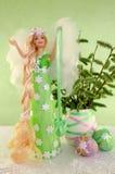 Ángel divino de la primavera Foto de archivo libre de regalías