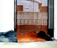 Ángel el dormir Imágenes de archivo libres de regalías