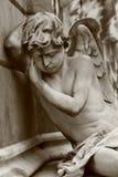 Ángel el dormir Fotografía de archivo