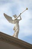 Ángel el tocar la trompeta Imagen de archivo libre de regalías