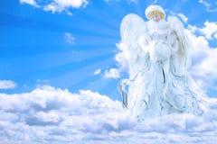 Ángel en cielo Fotos de archivo libres de regalías