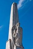 Ángel en el obelisco en Iulia Alba Foto de archivo libre de regalías