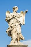 Ángel en el Ponte Sant'Angelo Imagen de archivo libre de regalías