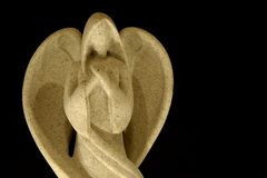 Ángel en la obscuridad Fotografía de archivo
