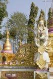 Ángel en Phra ese gongo de Gu en Wat Srabokaew Fotos de archivo libres de regalías