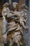 Ángel en Roma foto de archivo