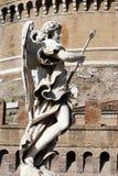 Ángel en Roma imagenes de archivo