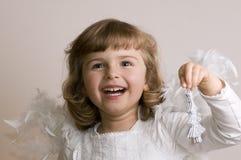 Ángel feliz foto de archivo libre de regalías
