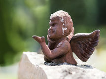 Ángel hecho de piedra Imagen de archivo libre de regalías