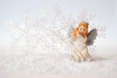 Ángel hermoso de la Navidad Fotografía de archivo
