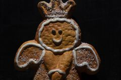 Ángel, la Navidad, makro fotos de archivo