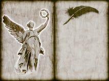 Ángel - mensajero divino fotos de archivo
