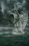 Ángel oscuro Imagen de archivo libre de regalías